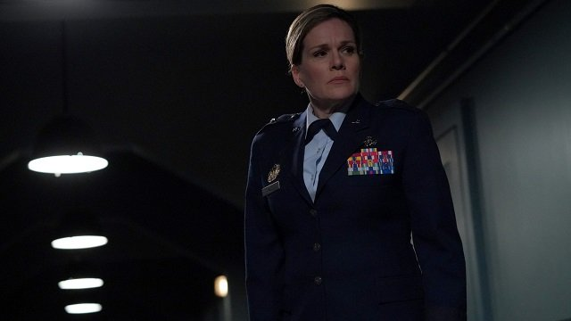 "MARVEL'S AGENTS OF S.H.I.E.L.D. - ""Rise and Shine"" - Coulson uncovers General Hale's true agenda, and it could be the end of the world if S.H.I.E.L.D. doesn't help her, on ""Marvel's Agents of S.H.I.E.L.D.,"" FRIDAY, MARCH 30 (9:01-10:01 p.m. EDT), on The ABC Television Network. (ABC/Byron Cohen) CATHERINE DENT"