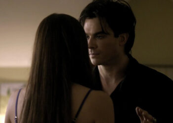 TVD The Vampire Diaries Damon Elena