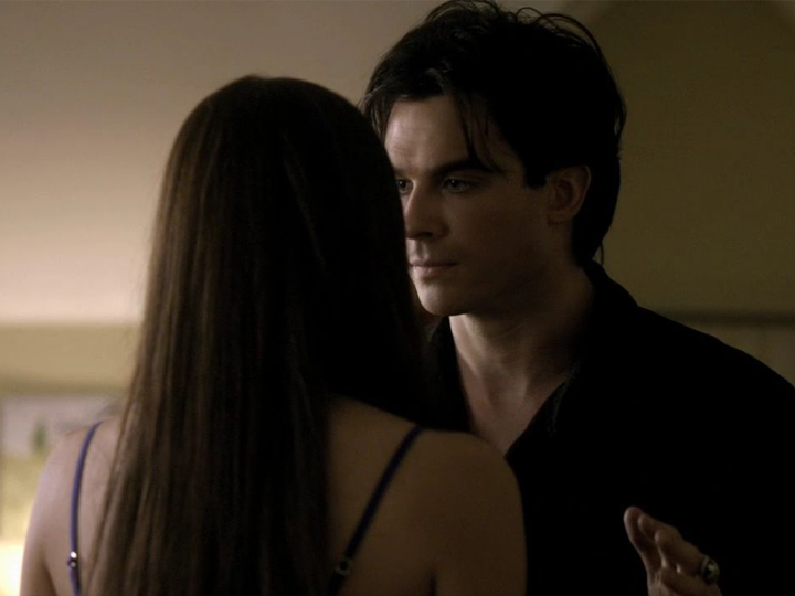 TVD The Vampire Diaries Damon Elena